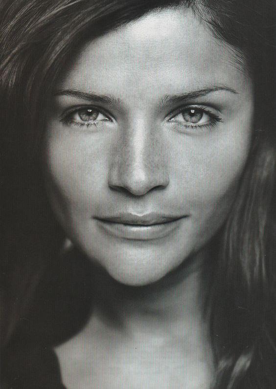Helena Christensen | For Elle Magazine Australia | December 2000 #helenachristensen #elle #2000. Great Dane from Denmark!