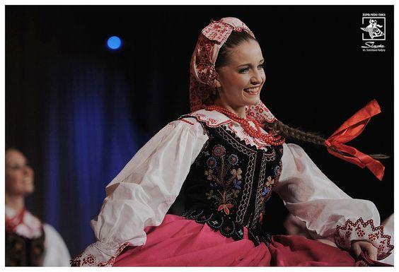 Folk costume of Lachy Sądeckie, Poland. Fot. Irek Dorożański.