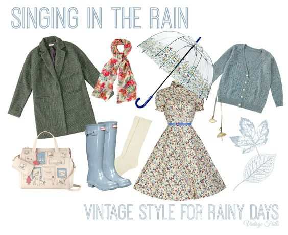 Singing in the Rain | Vintage Style For Rainy Days | Vintage Frills