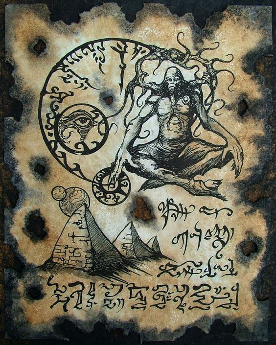 El Necronomicón,un libro salido de los infiernos 48f093b72a3032898a07c2a00419adec