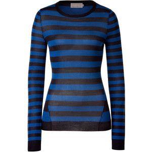 blue black stripey