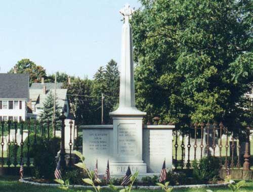 #14) Franklin Pierce...Concord, N.H.