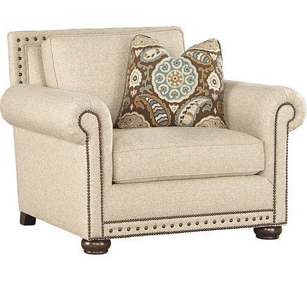 Make A Statement While Lounging In This Cozy By Bernhardt Caroline Chair