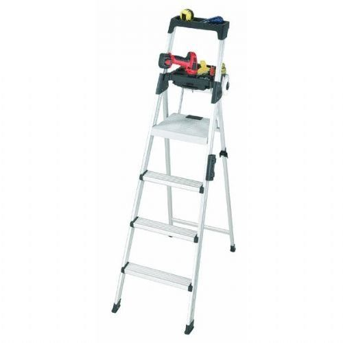 Cosco 20 61aabl Signature Series Premium Aluminum Type T1a Step Ladder 6 Foot For Sale Step Ladders Cosco Ladder