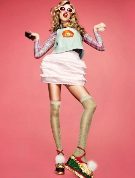 "Hailey Clauson by Tyrone Lebon for Pop Magazine ""This is pop too: LDN ^ _^"" (editor: Max Pearmain)"