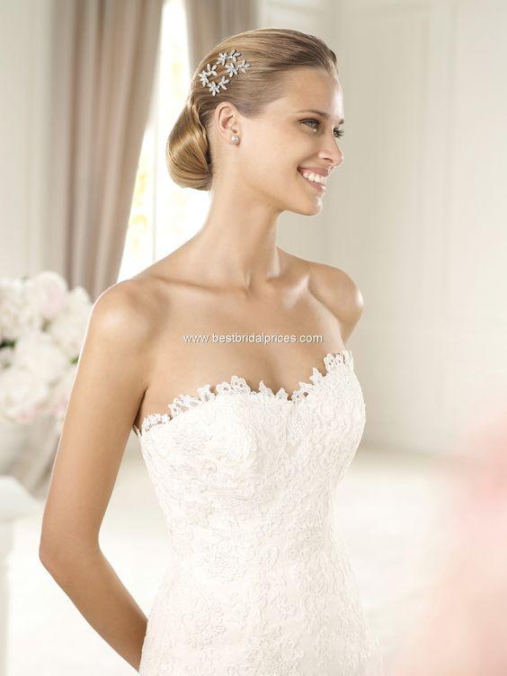 #BecomingMrsSegovia  Pronovias Wedding Dresses - Style Urdiel
