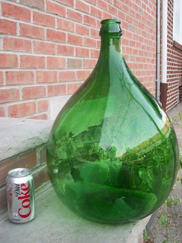 Pinterest the world s catalog of ideas for Green glass wine bottles
