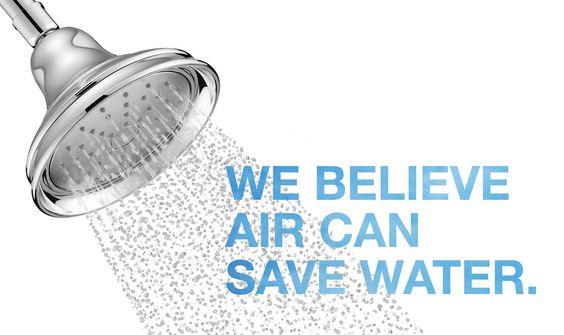 bold Ideas from Kohler, water saving shower head