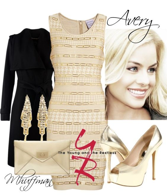 """Y New Years: Avery"" by mhuffman1282 ❤ liked on Polyvore"