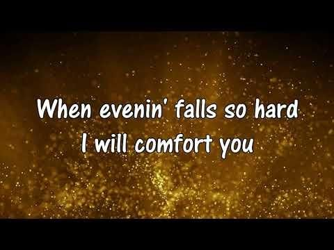 Aretha Franklin Bridge Over Troubled Waters Lyric Video Hd