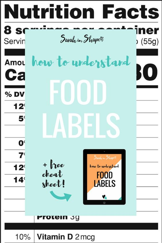 how to read nutrition labels for weight loss