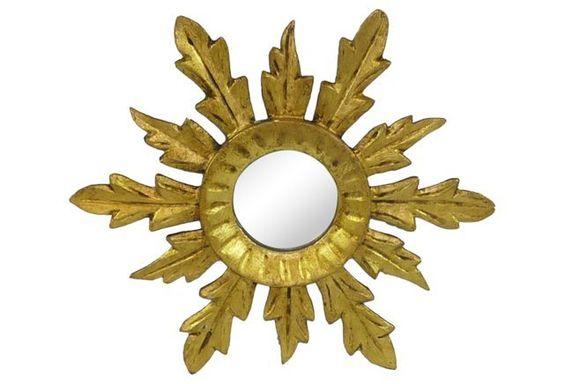 Petite Starburst Mirror