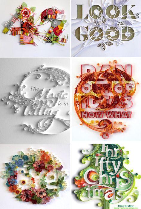 Innovative and stunning paper-cut illustrations of Yulia Brodskaya