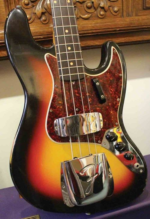 1966 Fender Jazz Bass Sunburst Guitars Bass Fiesta Finishes Fender Jazz Bass Fender Jazz Guitar