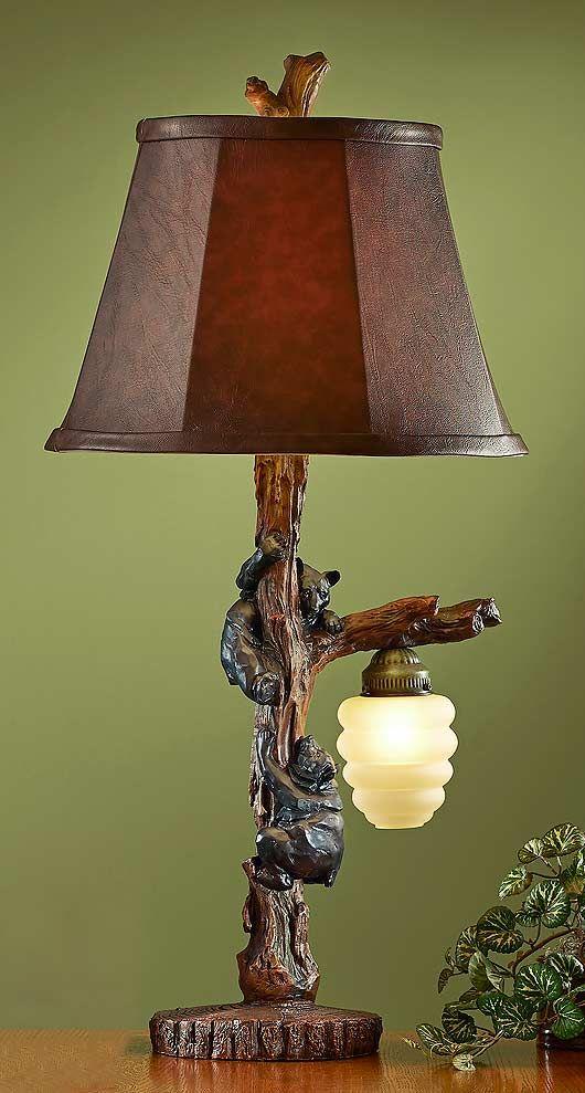 Lamps Wild Wings Lamp Bear Decor Table Lamp