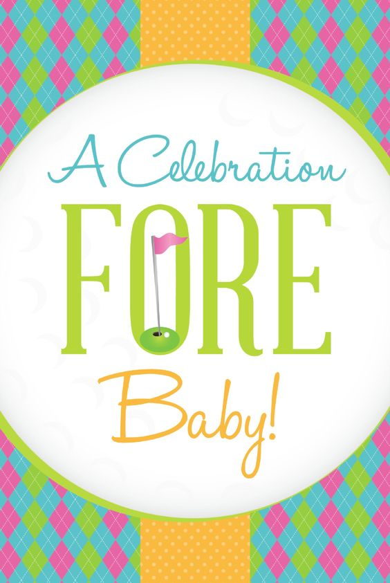 Baby Shower Idea: Golf Theme! {Click through for party details and ideas} #babyshower