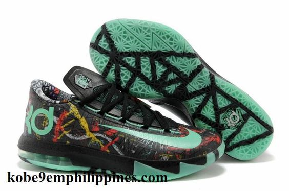 cheapest-2014-new-discount-nike-zoom-kd-vi-as-all-star-mens-shoes-black-green-awesome-basketball-shoes-2013.jpg (755×501)