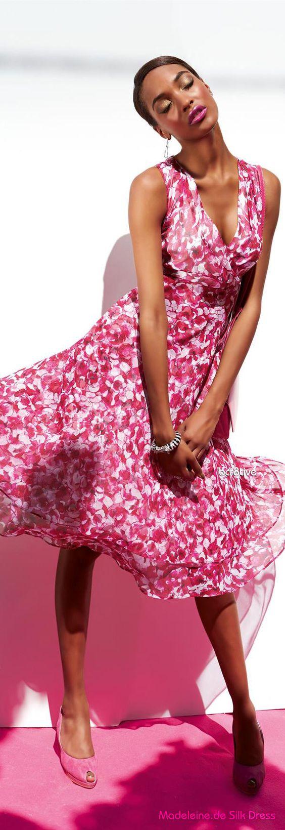 Farb-und Stilberatung mit www.farben-reich.com - Madeleine.de Silk Dress