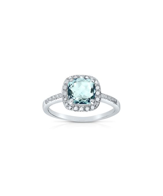 Another great find on #zulily! Blue Topaz Cushion-Cut Ring by Endearing #zulilyfinds