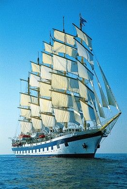Royal Clipper - Lisbon, Portugal to Marseille, France: 13 N - Mediterranean Sea - Sailing Ship Adventures: Sailing Vacations and Tall Ship Cruises
