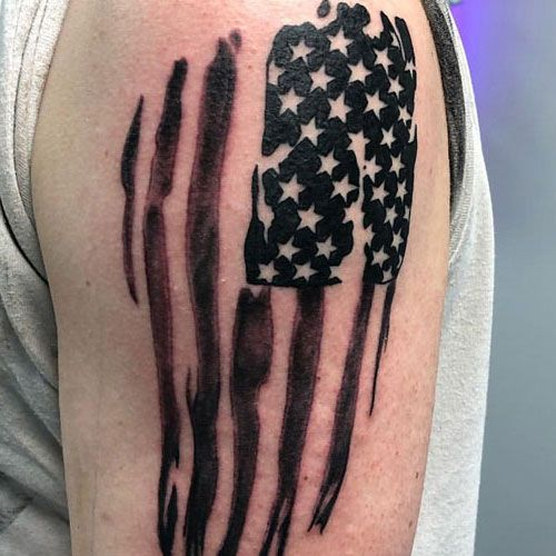 101 Best American Flag Tattoos Patriotic Design Ideas 2020 Guide Tattoos For Guys American Flag Tattoo Flag Tattoo
