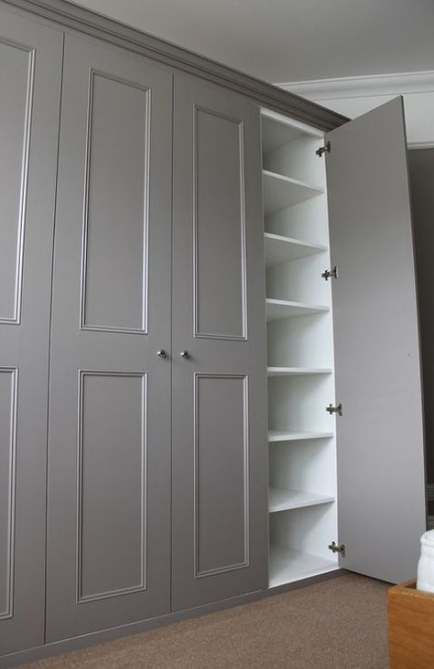 69 Ideas For One Wall Closet Floating Shelves Wall Closet With