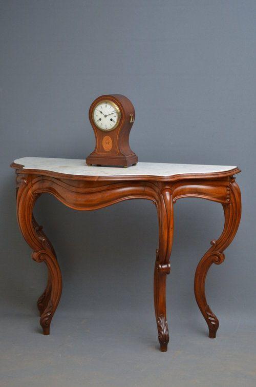 Victorian Mahogany Console Table Hall Table Antique Console Table Hall Table Console Table
