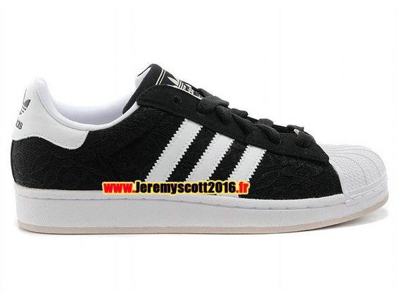 Adidas Originals Superstar  - Chaussure Adidas Sportswear Pas Cher Pour Homme/Femme Noir/Blanc S75142
