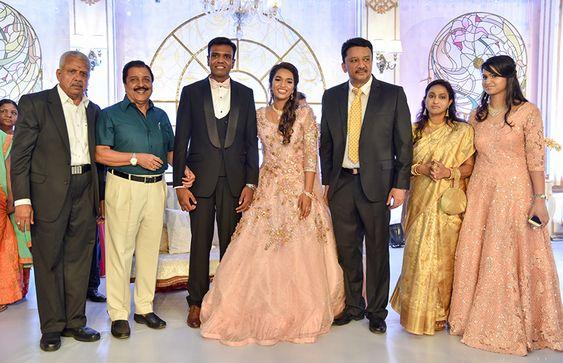 நடிகர் சிவக்குமார் கலந்துகொண்ட Dr எஸ் எம் பாலாஜி மகள் திருமண வரவேற்பு