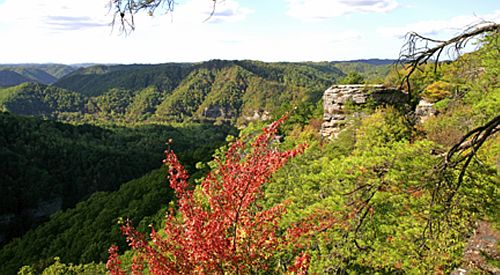 Breaks State Park (bet KY and VA)