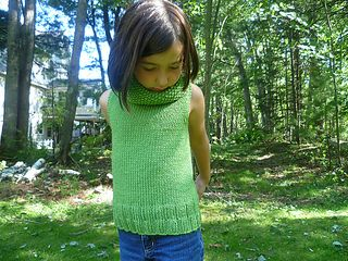 Sophisticated cowl neck sweater for little ones