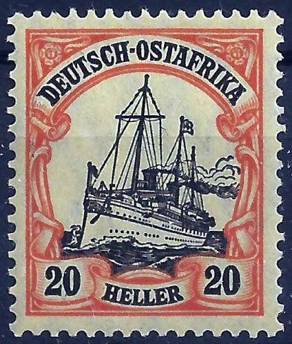 German East Africa 20 Heller c1900