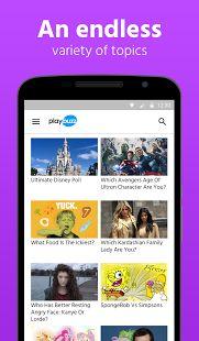 Playbuzz: miniatura de captura de pantalla