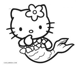 Free Printable Hello Kitty Coloring Pages For Pages Cool2bkids Hello Kitty Colouring Pages Hello Kitty Coloring Mermaid Coloring Pages