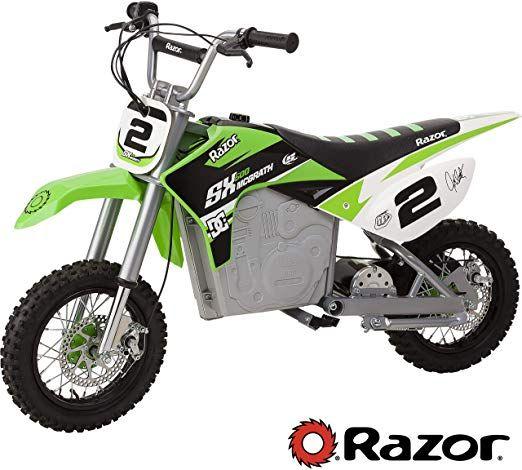 Amazon Com Razor Sx500 Mcgrath Dirt Rocket Electric Motocross