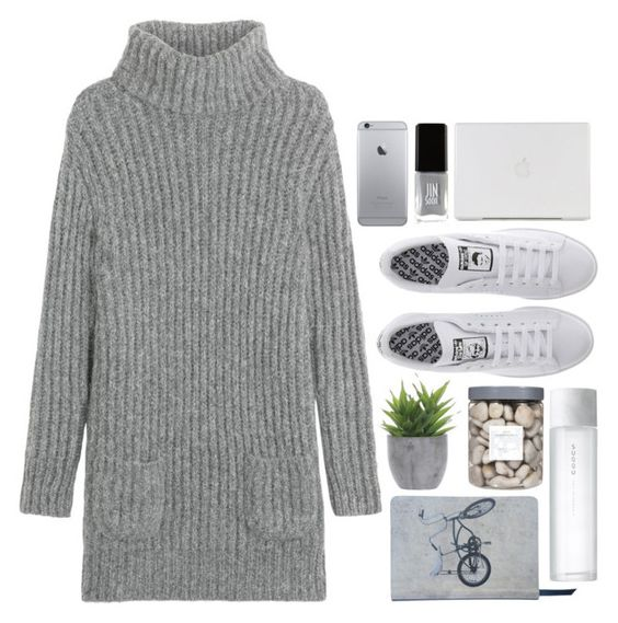 """'"" by oramivedi ❤ liked on Polyvore featuring TSE, adidas, Ella Doran, Lux-Art Silks, JINsoon, Threshold, SUQQU and coldchristmas"