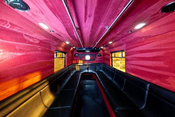 Inside the Opera VIP Bus: Buses, Inside, Opera Nightclub