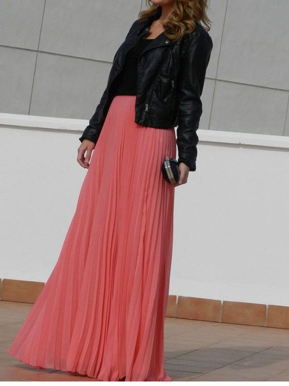 Fashion Fix: Maxi rok in de herfst