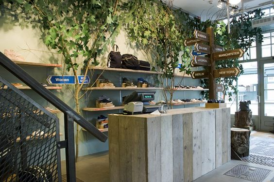 Fred Perry store by Studio XAG, London store design