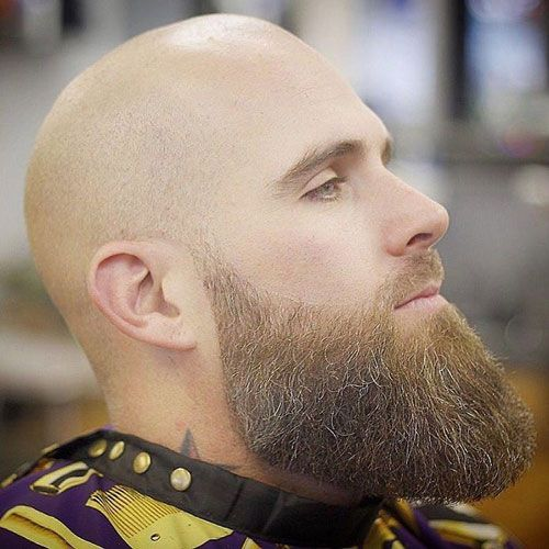Shaved Head For Balding Men Beard Fade Balding Mens Hairstyles Shaved Head With Beard