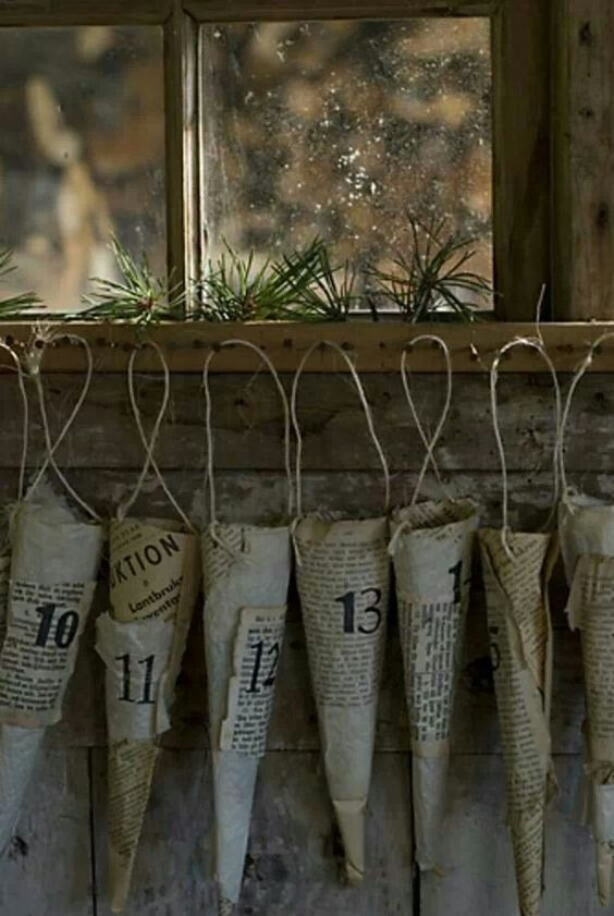 Advent kalender | Crafts | Pinterest | Advent