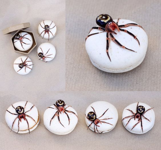 Edible False Widow Spider Tutorial