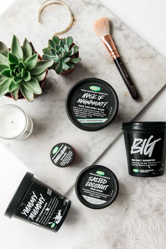 My Five Favourite Lush Products: