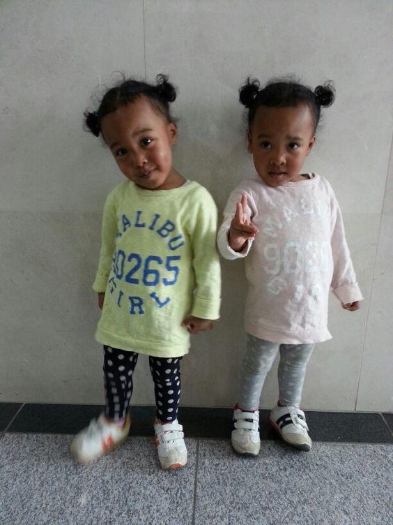 Twins blasian baby ♥ | Amyjin+Isabellejoo | Pinterest ...