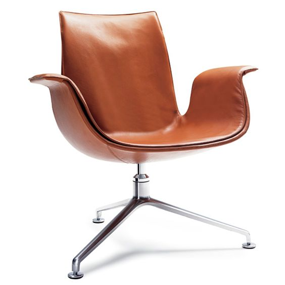 FK LOUNGE CHAIR designed by Preben Fabricius and manufactured by Walter Knoll. Available through Switch Modern.