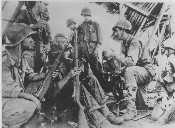 U.S. Marines at the Battle of Saipan (Mariana Islands - June/July 1944)