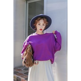 Buy 'PPGIRL – Round-Neck Cotton Pullover' with Free Shipping at YesStyle.com.au. Browse and shop for thousands of Asian fashion items from South Korea and more!