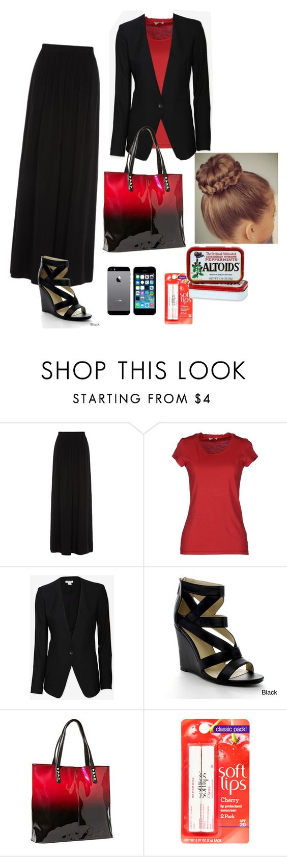 """""""Sunday Night Service"""" by jewelfield ❤ liked on Polyvore featuring Helmut Lang and Betsey Johnson"""