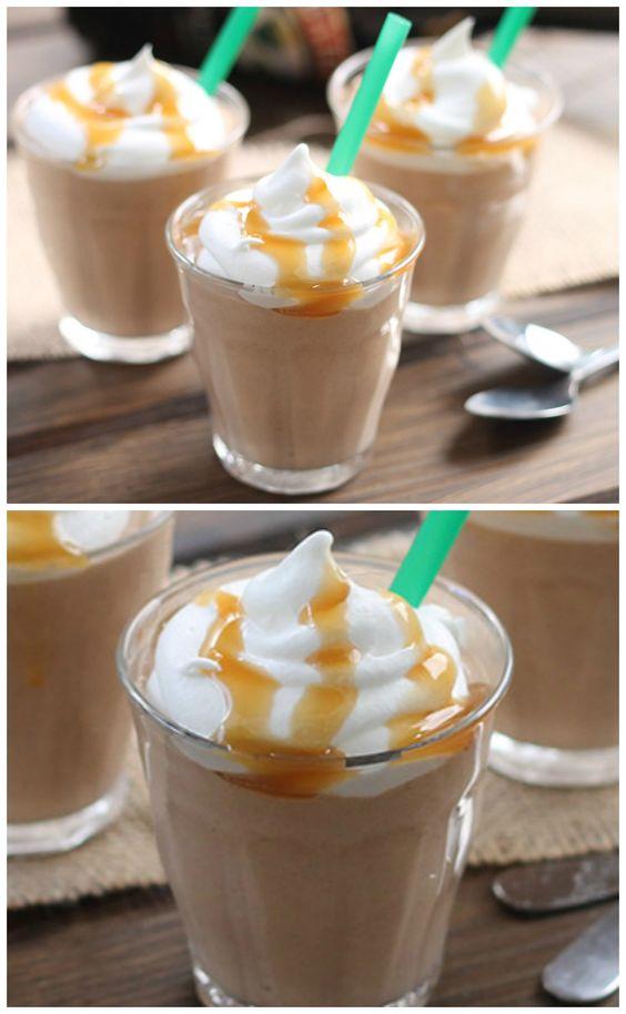 Salted Caramel Mocha Pudding Shots | Recipe | Salted caramels, Mocha ...