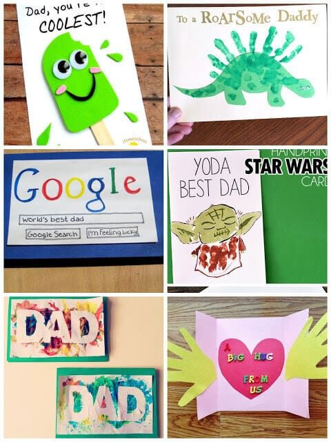40 Homemade Fathers Day Cards For Kids To Make Homemade Fathers Day Card Diy Father S Day Cards Fathers Day Cards